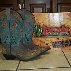 Laredo Miss Kate Cowboy Boots new in box